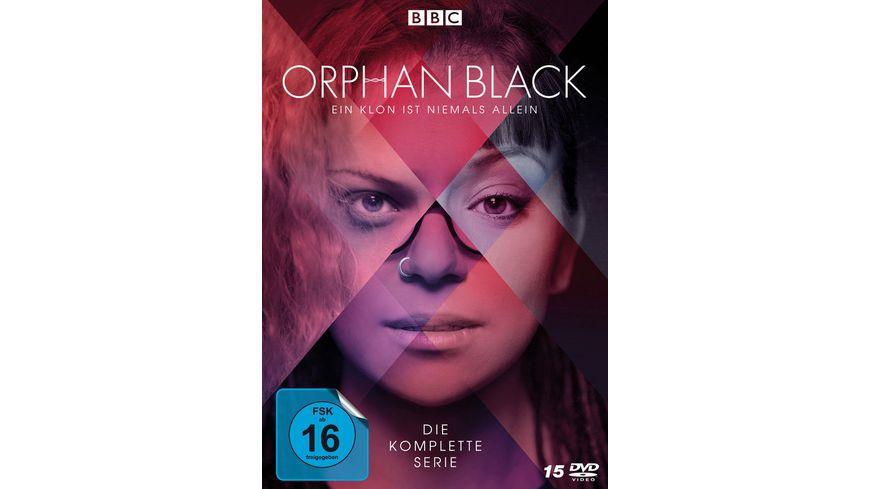 Orphan Black - Die komplette Serie - Alle 5 Staffeln - Alle 50 Episoden  [15 DVDs]