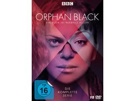 Orphan Black Die komplette Serie Alle 5 Staffeln Alle 50 Episoden 15 DVDs