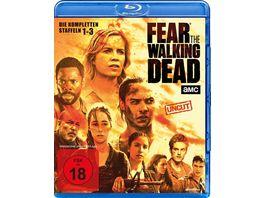 Fear the Walking Dead Staffel 1 2 3 Uncut 10 BRs