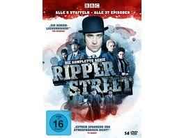 Ripper Street Die komplette Serie Alle 5 Staffeln Alle 37 Episoden 14 DVDs