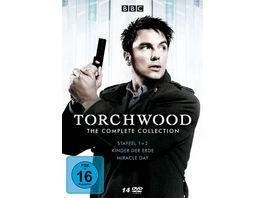 Torchwood Die komplette Serie mit Staffel 1 2 Kinder der Erde und Miracle Day 14 DVDs