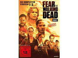 Fear the Walking Dead Staffel 1 2 3 Uncut 10 DVDs