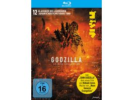 Godzilla 12 Disc Collection Limited Edition 12 BRs