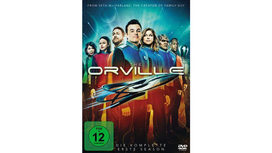 The Orville Season 1 4 DVDs