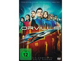 The Orville Season 1 4 DVDs
