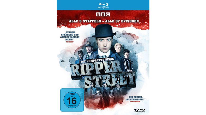 Ripper Street - Die komplette Serie - Alle 5 Staffeln - Alle 37 Episoden  [10 BRs]
