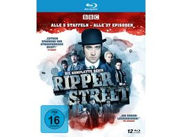 Ripper Street Die komplette Serie Alle 5 Staffeln Alle 37 Episoden 10 BRs