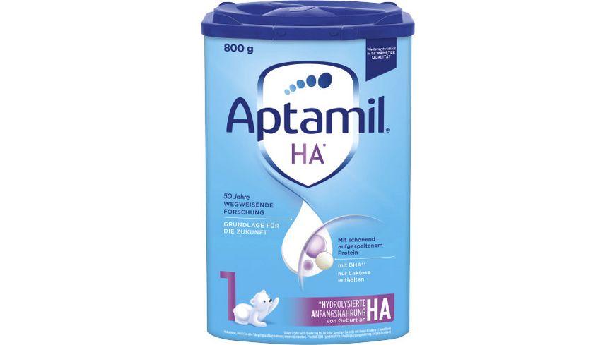 Aptamil HA 1 mit SYNEO Anfangsnahrung von Geburt an 800g
