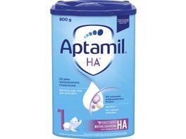 Aptamil HA 1 mit PROsyneo Anfangsnahrung von Geburt an