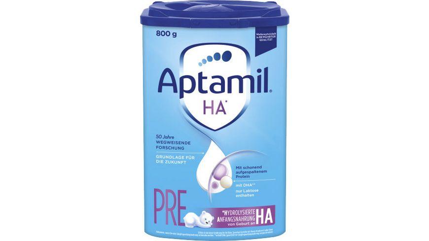 Aptamil HA PRE mit SYNEO Anfangsnahrung von Geburt an 800g