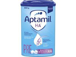 Aptamil HA PRE mit PROsyneo Anfangsnahrung von Geburt an