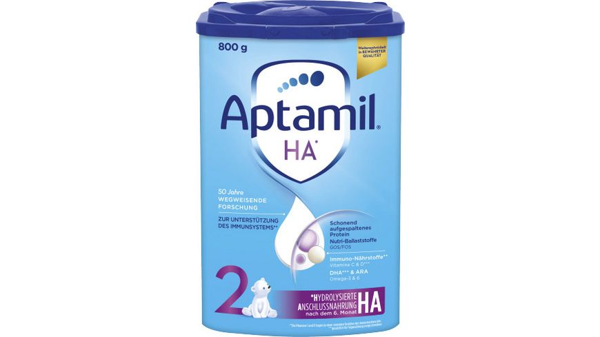 Aptamil HA 2 mit SYNEO Folgenahrung nach dem 6 Monat 800g