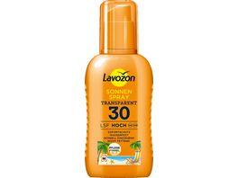 LAVOZON Transparentes Sonnenspray LSF 30