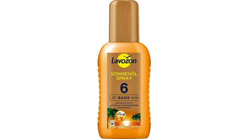 LAVOZON Sonnenoel Spray LSF 6