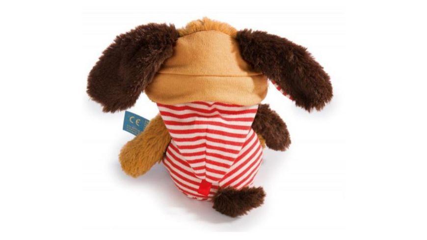 NICI Kuscheltier Schlafmuetzen Hund Woofl 22cm