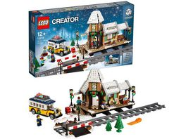 LEGO Creator Expert 10259 Winterlicher Bahnhof