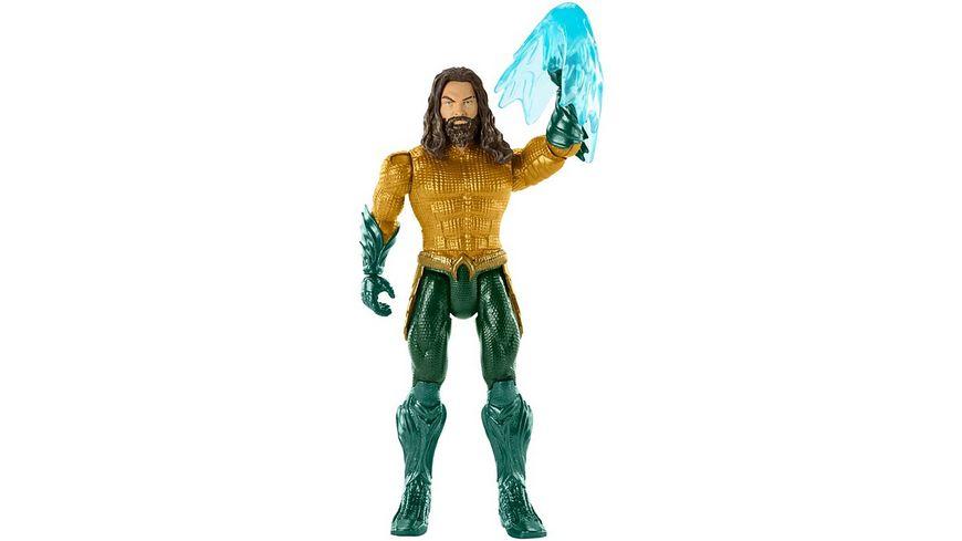 Mattel DC Justice League Aquaman Hai und Aquaman Figur 15 cm