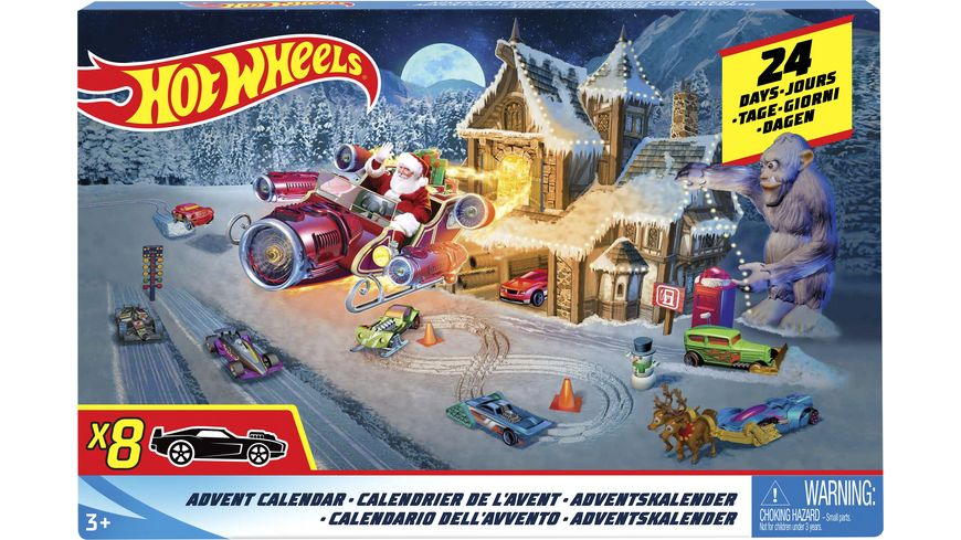 Mattel Hot Wheels Adventskalender 2018