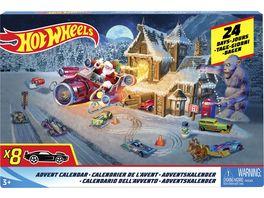 Mattel Hot Wheels Adventskalender 2018