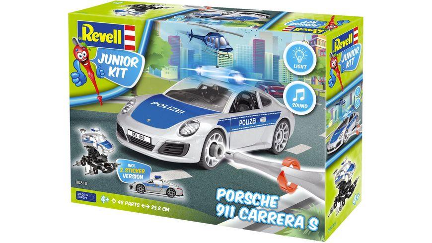 Revell 00818 Junior Kit Porsche 911 Polizei