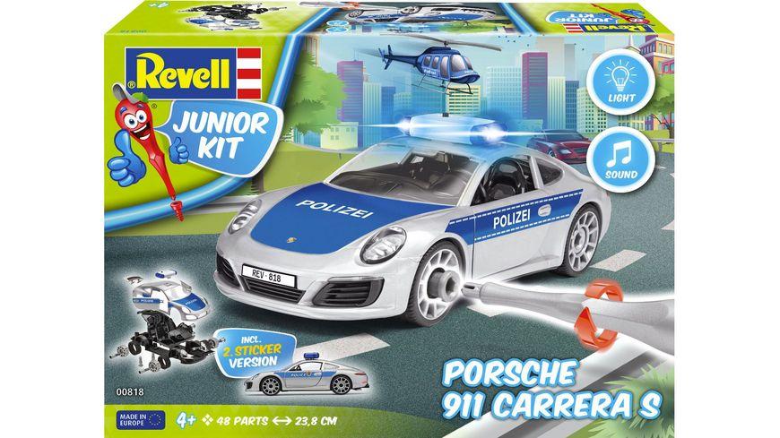 Revell Junior Kit Porsche 911 Polizei