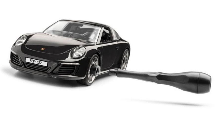 Revell 00822 Junior Kit Porsche 911 Targa 4S