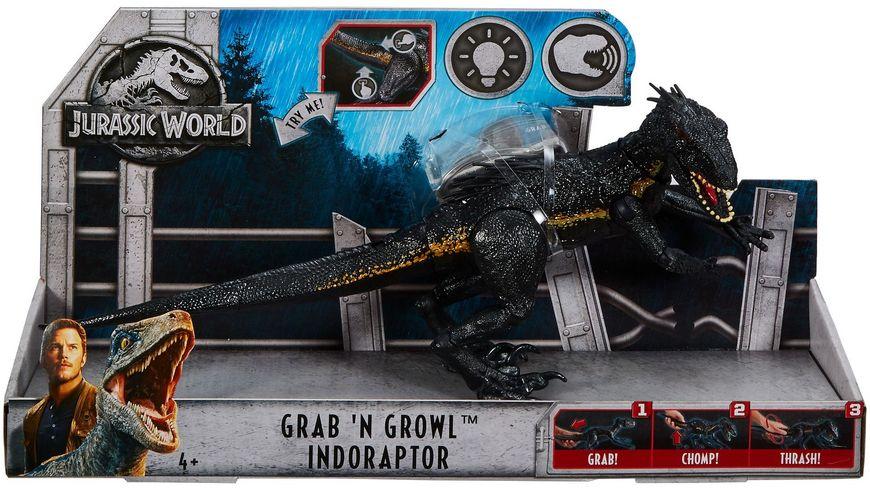 Mattel Jurassic World Lichter und Geraeusche Indoraptor