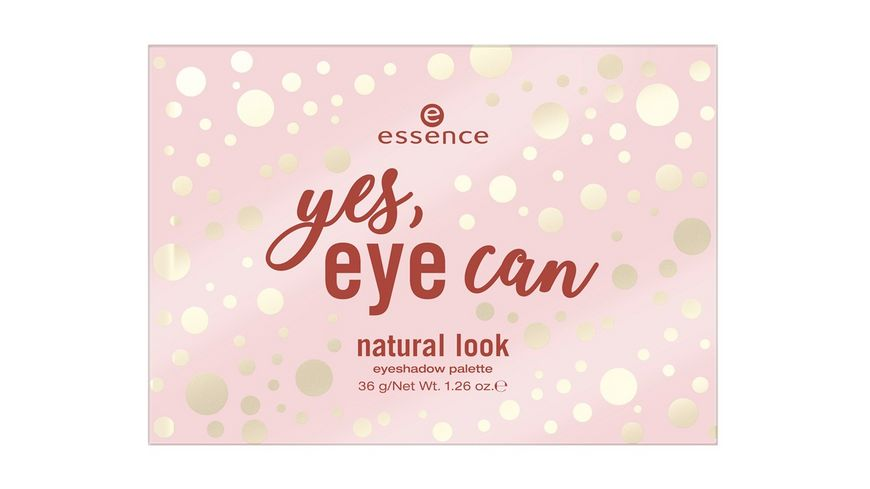 essence yes eye can natural look eyeshadow palette
