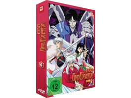 InuYasha Die TV Serie Box Vol 6 Episoden 139 167 4 DVDs