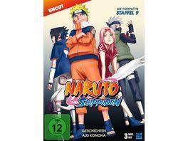 Naruto Shippuden Staffel 9 Uncut 3 DVDs