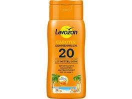 LAVOZON Sonnenmilch Carotin LSF 20