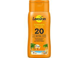 LAVOZON Sonnenmilch LSF 20