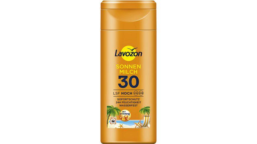 LAVOZON Sonnenmilch LSF 30