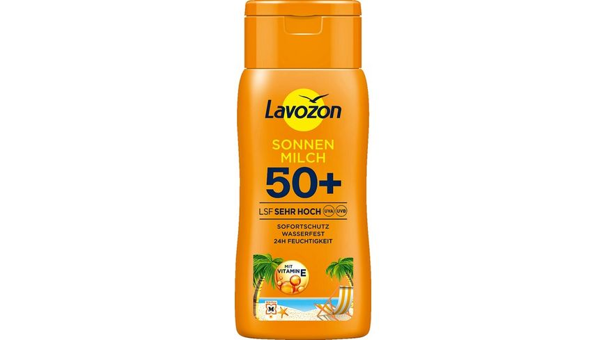 LAVOZON Sonnenmilch LSF 50+