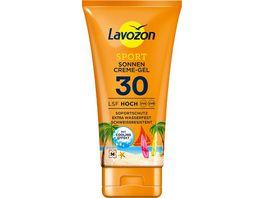 LAVOZON SPORT Sonnencreme Gel LSF 30