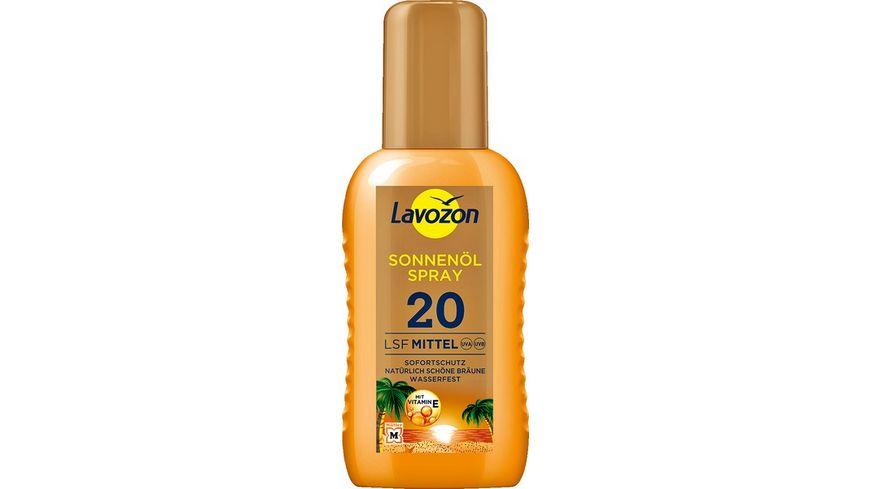 LAVOZON Sonnenoel Spray LSF 20
