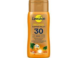 LAVOZON BRONZE Summer Milch LSF 30