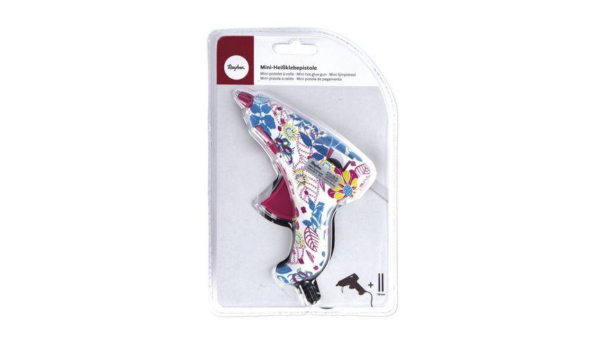 Rayher Mini Heissklebepistole Flower Power