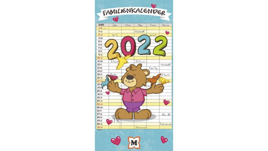 Mueller Familienplaner 2020