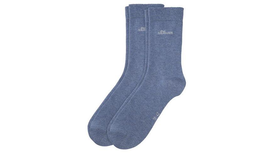 s Oliver Damen Socken Classic 2er Pack