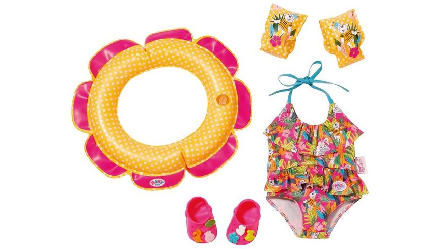 Zapf Creation Baby born Schwimmspass Set