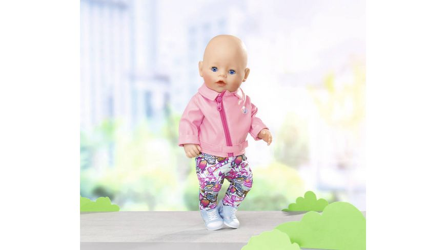 Zapf Creation Baby born City Deluxe Scooter Outfit