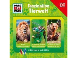 WAS IST WAS 3 CD HOeRSPIELBOX VOL 7 TIERWELT