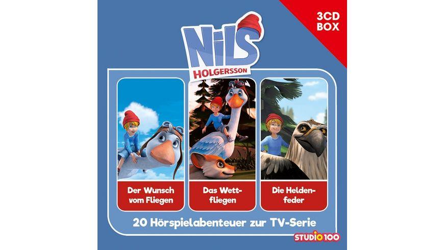 Nils Holgersson Cgi 3 CD Hoerspielbox