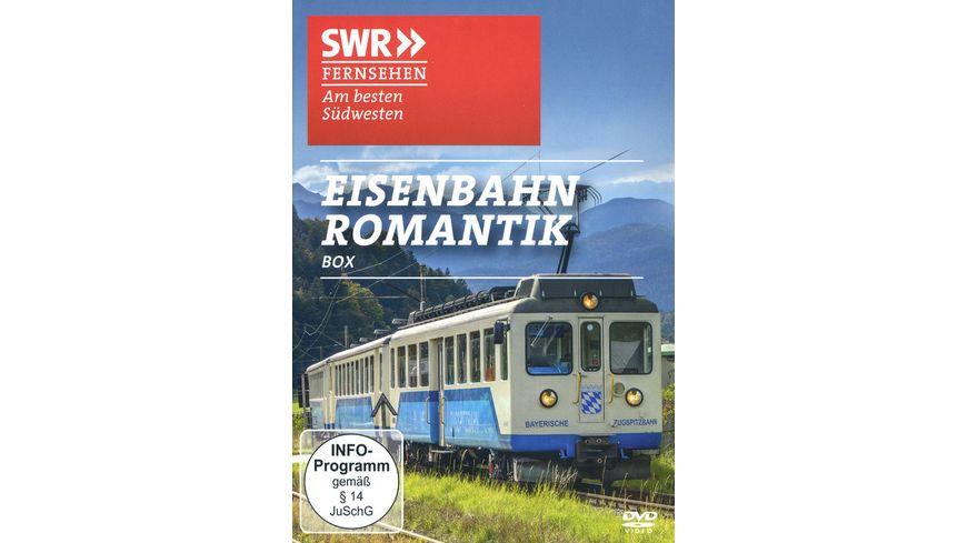 Eisenbahn Romantik Box Eisenbahn Romantik Doku SWR 2 DVDs