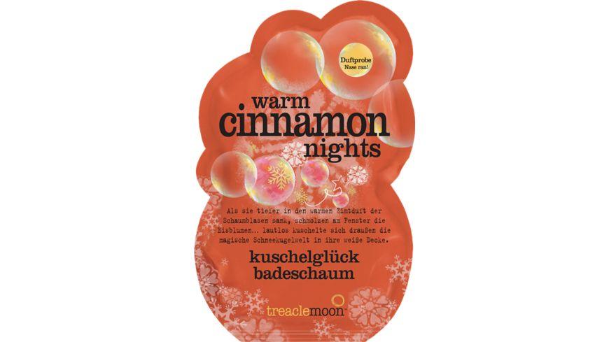 treaclemoon Badeschaum warm cinnamon nights