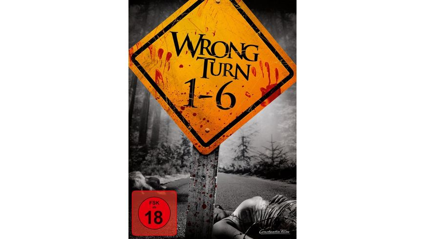 Wrong Turn 1 6 6 DVDs