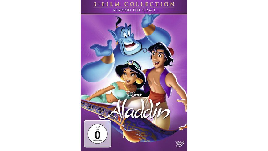 Aladdin Dreierpack Disney Classics 2 3 Teil 3 DVDs