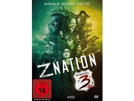 Z Nation Staffel 3 Uncut 4 DVDs