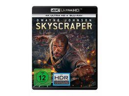 Skyscraper 4K Ultra HD Blu ray 2D